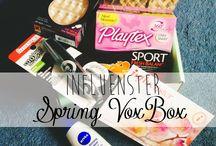 Spring Vox Box! / by Jennifer Hazzard
