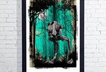 Art for Kids / Design your Children's bedroom with these fantastic prints.