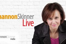 RADIO: Shannon Skinner Live radio show / Listing to interviews with my guests on Shannon Skinner Live, a weekly radio show broadcast on VoiceAmerica Women. Meet my guests here. They all have some wisdom to share in this series that may help you as you follow your heart.  Website: www.ShannonSkinner.com
