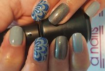 Plantillas A Nails / Plantillas A Nails en vinilo para decorar tus uñas, la opción perfecta para las aplicadoras.