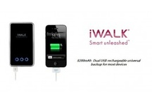 iWalk Series Docking Stations @ Spexis Technology / Dock, battery backup, external charger for your iPhone, iPod and iPads.