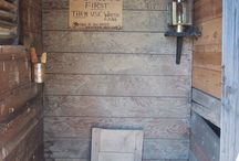 Privy and Outhouses
