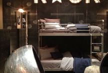 Teenager BOYS bedroom / Ideas for teenager boys bedroom