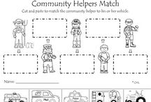 Community Workers:  Miscellaneous Workers / by Bonnie Wolf