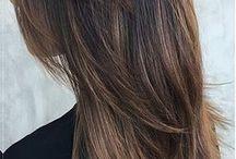 Uzun katlı saç
