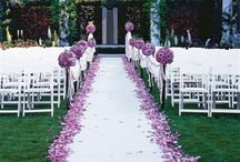 Wedding aisle, ceremony and reception decoration ideas / Wedding aisle, ceremony and reception decorations ideas and more.