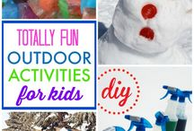 Outdoor Learning Activities / This board shares ideas for outdoor learning activities