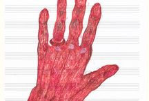 Skitsebog hands