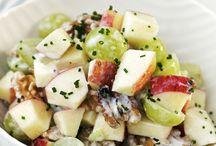 Salate und Deko