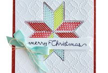 Stampin Up Christmas quilt