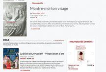 Le nouveau site des éditions du Cerf