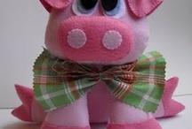 Pigs I love! / by Beads Corjilfli