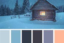 Christmas Colour Palettes