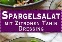 Food: Spargel - Asparagus / Es ist Spargel-Saison! Spargel in allen Variationen / Recipes for asparagus in all variations