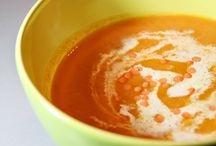 ♥ Soupes lovers / Soupes, veloutés, potages... C'est idéal pour se réconforter (et c'est toujours végétarien)