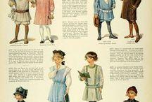 pakaian anak2 amerika kuno
