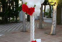 Стойки и колонны из Воздушных Шаров / Стойки и колонны из Воздушных Шаров для оформления любого праздника- дня рождения, свадьбы, торжества.