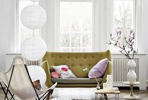 Living Room Decor Inspiration / Home decor style ideas for your living room.