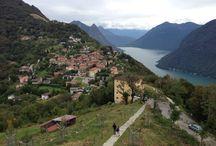 Bre village, Switzerland