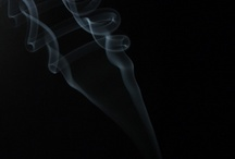 """My """"Smoke"""" & """"Water"""" photos / My first time try at photographing smoke. Not bad for a first time. The room wasn't even completely dark like it should be..."""