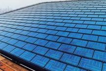 Solar roof tile