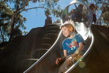 Hazelwood Park Playspace / Multi award winning playspace design in Hazelwood Park South Australia