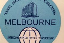 Southern Cross Intercontinental Hotel Melbourne / The Southern Cross Hotel Melbourne opened in 1962. Los Angeles architects Welton Becket & Associates in partnership with local architects Leslie M. Perrot & Partners designed the exterior with interiors by Neal Prince.