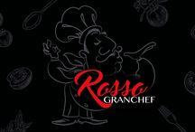 ROSSO GRANCHEF Labelling Food design by mostachos