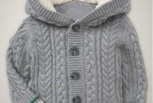 вязаная курточка
