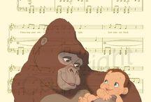 Disney's music sheets