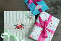 Gift and wrapping, Handmade by Vintage Rose Sirpa Kiljunen