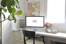 Home office ideas / Bedroom office design ideas