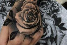 kézfej tetoválás