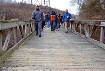 Second Saturday Hike (Media, 2-8-2014) / Roger Bell's article in the Daily Herald about the Second Saturday Hike (http://www.rrdailyherald.com/news/great-turnout-for-canal-hike/article_59d2e718-9117-11e3-aa96-0019bb2963f4.html?mode=image&photo=0O