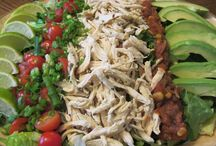 Meal Salad Recipes / Salads that are a complete meal in themselves.