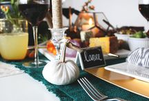 Velvet Pumpkin Decorating / by LoveFeast Shop