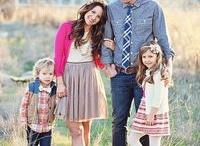Family of 4 poses / by Rebecca Benham