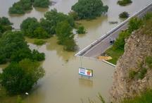 Floods Jun 2013 in Slovakia: Bratislava, Devinska Nova Ves