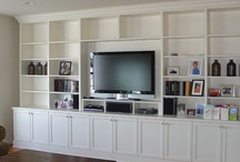 Home :: Media Centers, built-ins / by Lindsay Bates