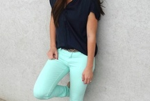 MINT TROUSERS OUTFIT