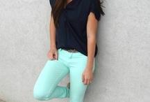 Menta / Pantalines azul menta - outfit