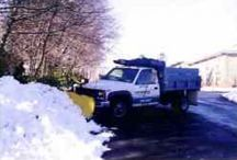 Commercial Snow Plowing by Horizon Landscape