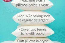 siivous ja pyykki