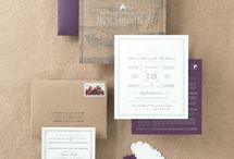 Wedding Stationary / Inspiration for your big day stationary