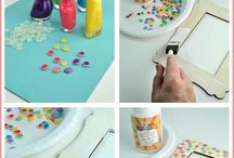 Decorative ideas with hot glue