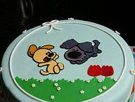 Woezel en Pip taarten