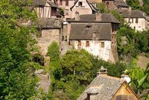 Beautiful villages of south west France / Through the French countryside there are picturesque and historic villages. In the beautiful region of the midi-pyrenees in rural south west France you will find unspoilt villages full of authentic charm.