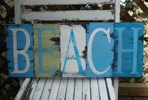Adrian's Beach Art / Inspiration for Adrian's wall art.