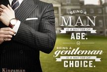 Gentleman's outfits