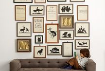 | Gallery walls | / I absolutely looove gallery walls...